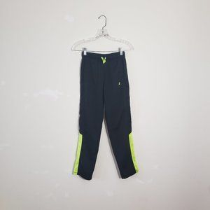 Russell Black/Neon Track Pants XS